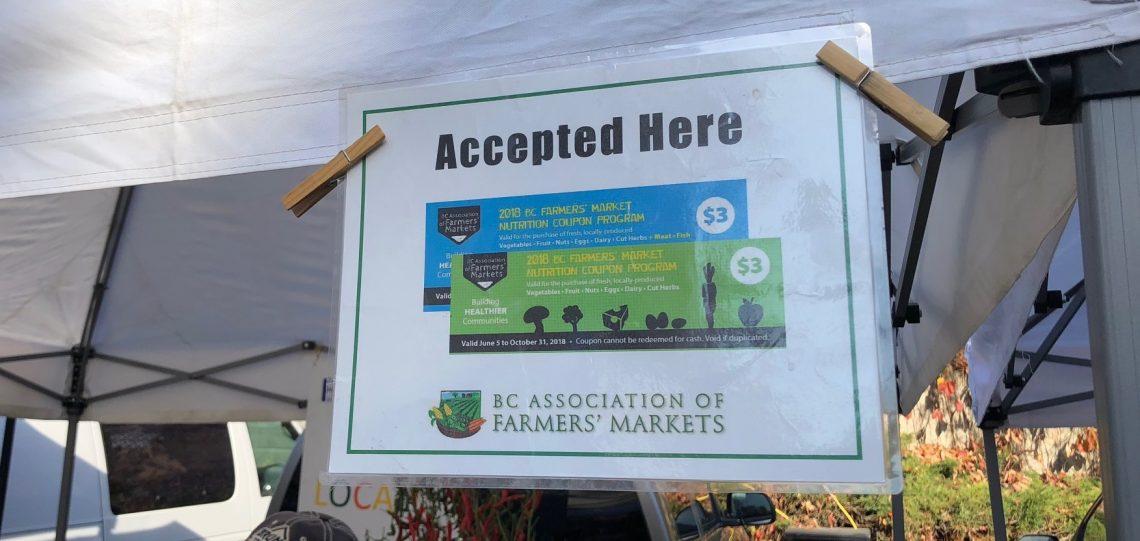 Farmer's Market Coupon Program.