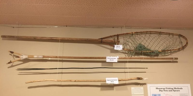 Fishing Equipment. Photo provided by: Secwepemc Museum ~ Gallery 2