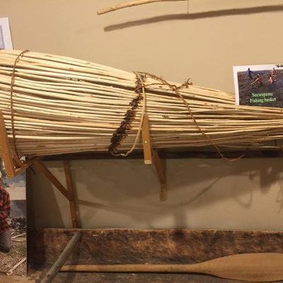 Fishing Net. Photo provided by: Secwepemc Museum ~  Gallery 2